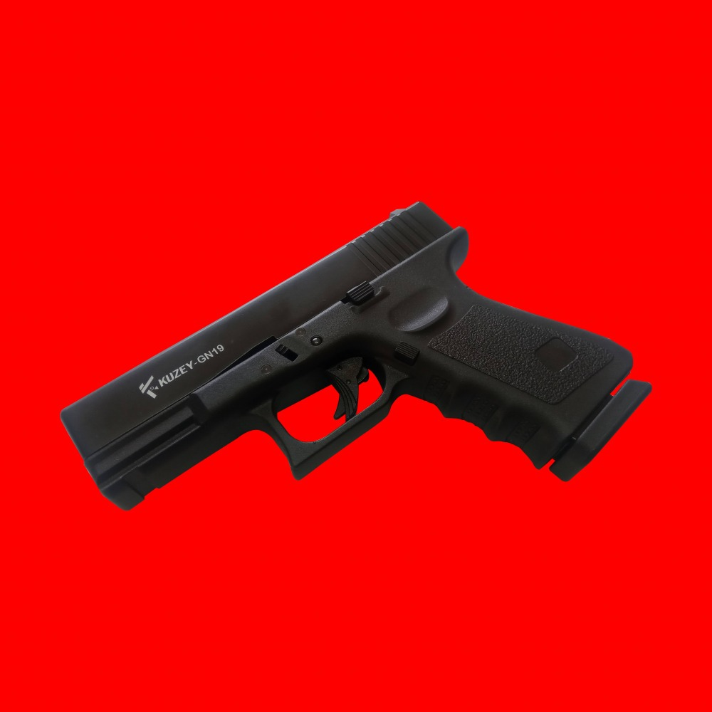 Kuzey Gn19 Glock Replica At An Angle