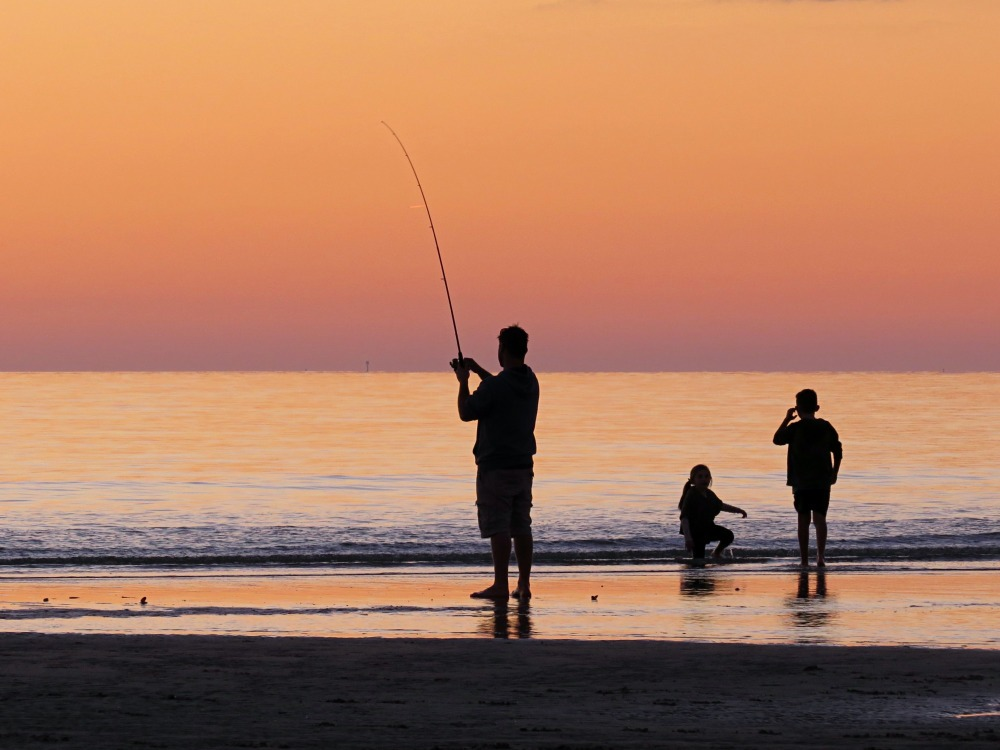 Want To Legally Go To The Beach Get A Fishing License!