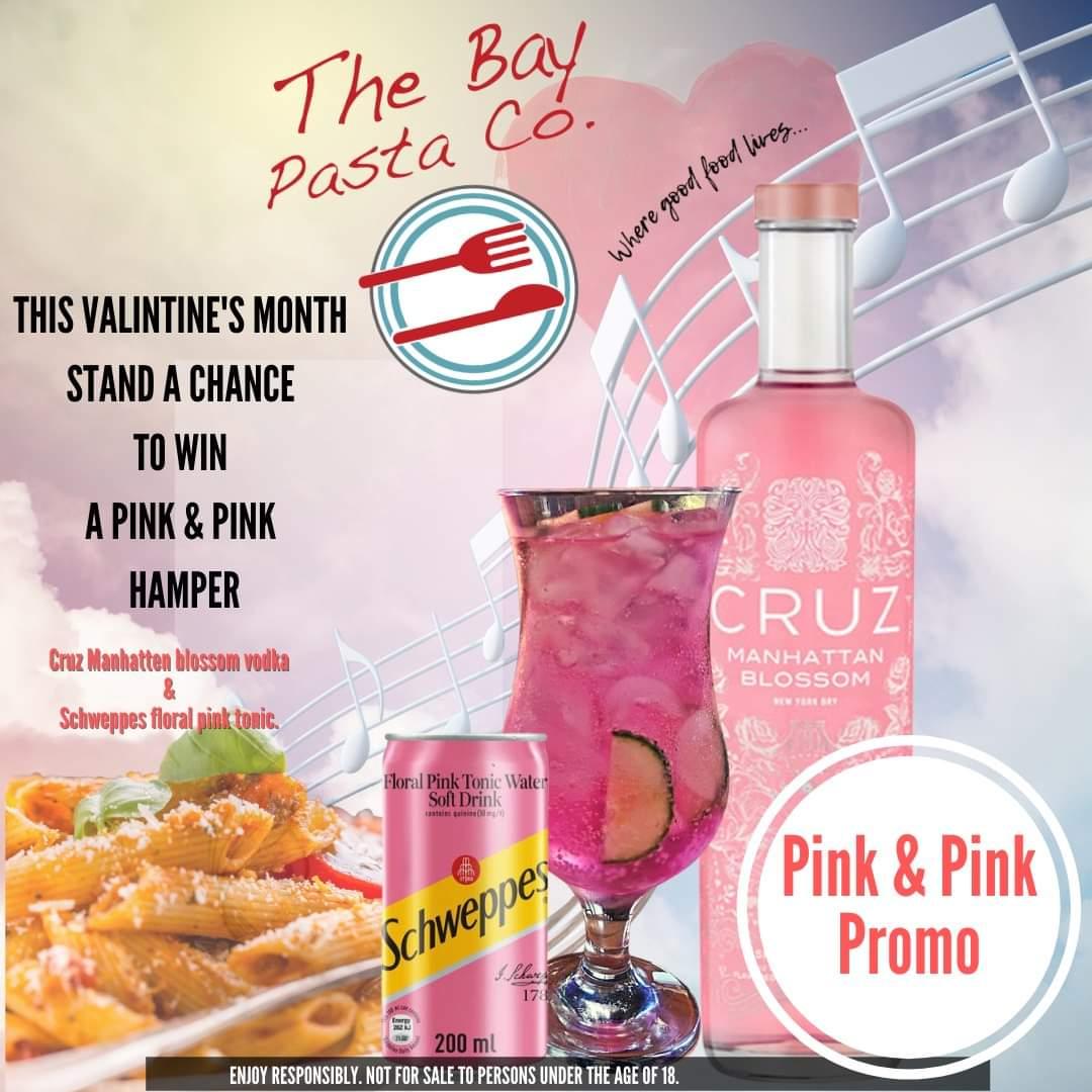 bay pasta co valentine's month pink & pink promo